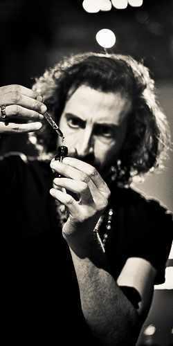 Giuseppe Imprezzabile a.k.a. Meo Fusciuni, a MASQUE Milano Nose for the EDP Luci ed Ombre